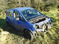 Vauxhall MERIVA damaged............cheap for quick sale