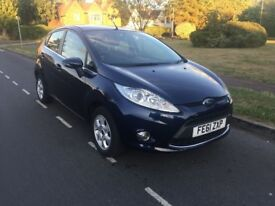 Ford FIESTA (2011) Diesel - Hatchback Metallic Blue
