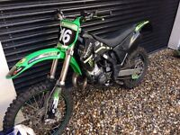 ROAD LEGAL KX 125 - 2006. EXCELLENT CONDITION (NOT CR/RM/YZ/KTM 125)