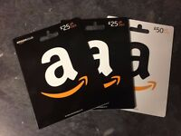 100 pounds worth of Amazon gift/voucher cards
