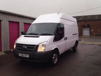 FORD TRANSIT T350 LWB FWD HI-TOP 61REG FOR SALE