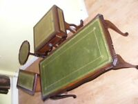 CAN DELIVER - COLLECTION OF OCCASIONAL TABLES - COFFEE TABLE, MAGAZINE RACK, ETC