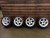 Ford Fiesta Zetec 15 inch alloy wheels