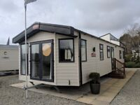 Carnaby Holiday Caravan for sale on Holiday Park with direct beach access