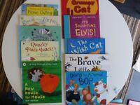Pre-school reading book bundle 10 books as new