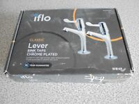 iflo Classic Lever Sink Taps Chrome Plated Priced To Sell