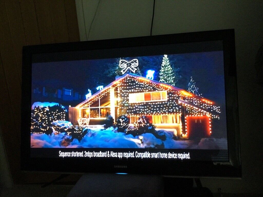 Samsung 50 Plasma Tv In Perfect Working Order New Milton Of Display