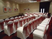 wedding chair sashes for sale (LOTS OF COLOURS )