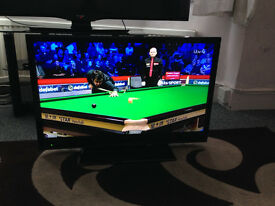 """SHARP 32"""" LC32LE144E LED TV WITH TABLETOP STAND AND REMOTE £140"""