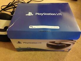 PlayStation VR Headset, Camera and Game