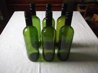 Wine bottles for home wine making