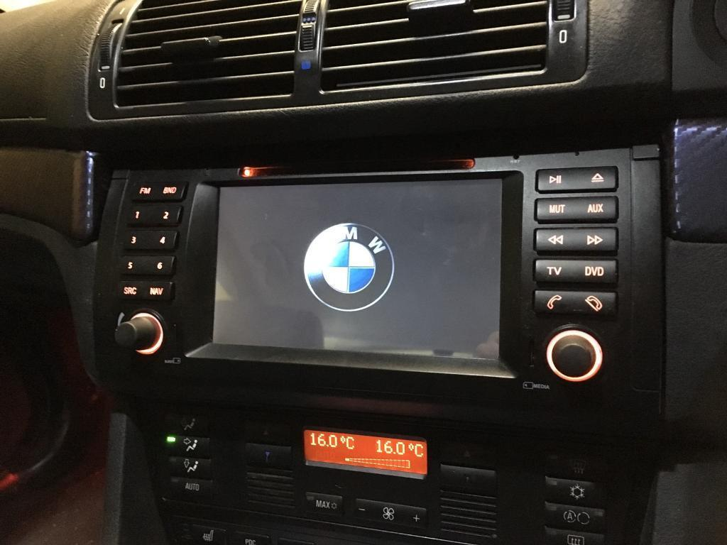 android head unit bmw e39 in cirencester. Black Bedroom Furniture Sets. Home Design Ideas