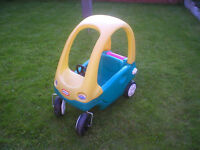 LITTLE TIKES GRAND COUPE RIDE ON CAR