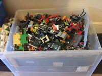 Lego huge bundle + box and some leaflets.