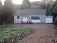 Lovely, unfurnished 2 bedroom cottage in rural location - Robinhill, Kinnaird