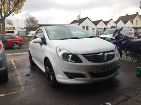 Vauxhall Corsa Limited Edition 1.2 Petrol White Manual 3 Door Hatchback 2010
