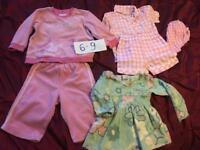Bundle of clothes 6-9 m