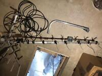 Philex 48 Element TV Aerial And 2 Way Booster New