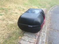 motorcycle top box