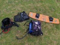 9.5m kite surfing kite very good condition!!
