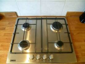 Zanussi gas hob and electric oven