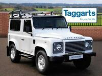 Land Rover Defender 90 TD XS STATION WAGON (white) 2013-12-12