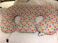 Twin Z Nursing Pillow with Waterproof Birdie Cover (for nursing twins)