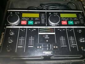 Numark cd mix 1 dual cd player