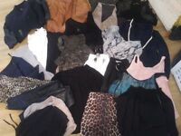 24 items womens clothes (dorothy perkins, zara, river island, topshop etc)