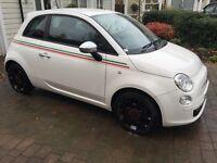 Fiat 500 1.2 Street 3dr **ONLY 5190 MILES** FSH - HUGE SPEC - STOP/START