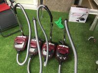 Set of 5 vacuumed cleane5