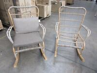 2 Cane rocking Chairs
