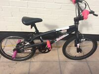 Girls Avigo Spin Bike with Pink Stunt Pegs