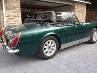 MG Midget 1275 Round wheel arch (RWA)