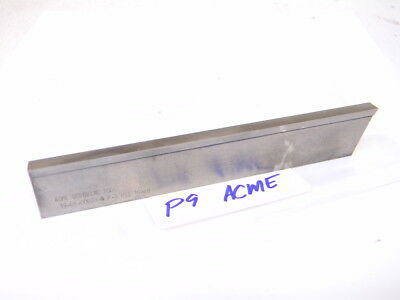 Used Acme Grooving Tool Usa Hss Cut Off Parting Blade P9 14 X 1-18 X 6.50