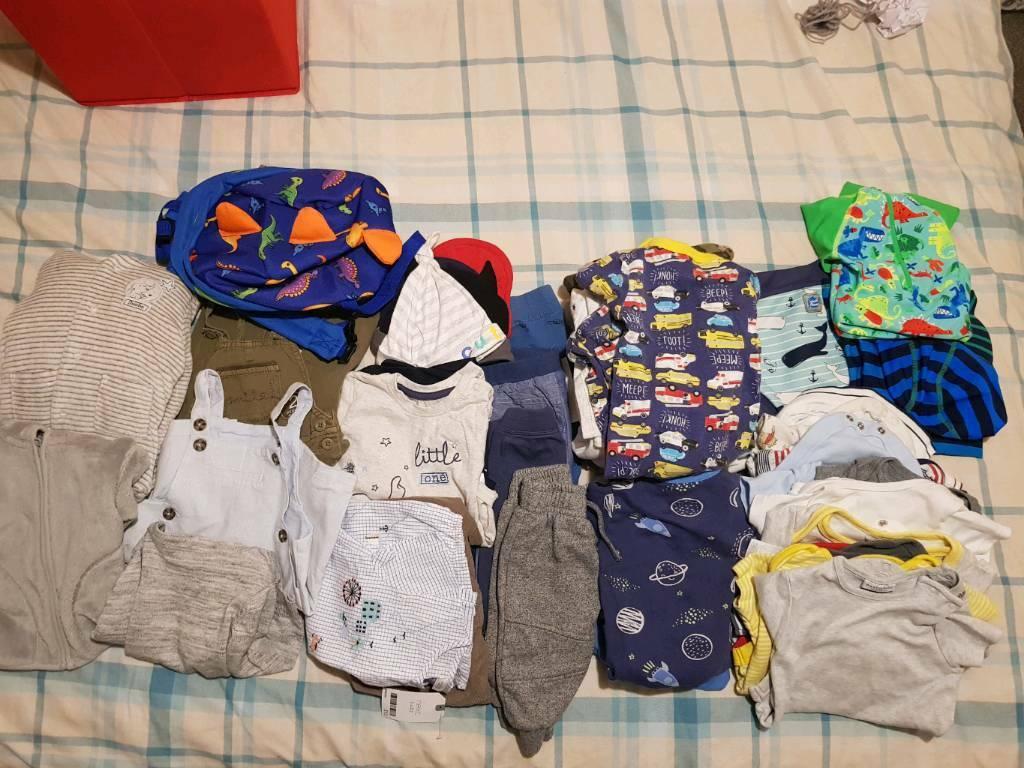 Cheap Sale 3-6 Months Trouserx x2 Clothing, Shoes & Accessories Boys' Clothing (newborn-5t)