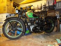 BSA B21 Sport Classic pre-war motorcycle. Very Good condition. Recent engine overhaul.