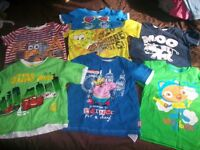 Huge Bundle Of Boys 4-5 Summer T-Shirts & Shorts, Please see all Pics L@@K