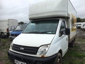LDv maxus box van breaking bumper bonnet wings lights radiator doors wheels
