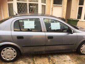 Vauxhall Astra 1.4 silver 1 year mot got it part exchange i think cat 4. 07415832089