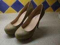 Brand New Nude Coloured High Heels