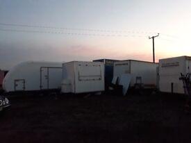 Catering trailer Lpg Equipment setup Gas Fryers Bain marie griddle Ice-cream machine slush machines