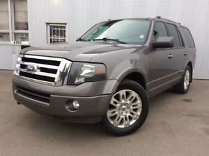 2011 Ford Expedition Limited, 4X4, LEATHER, HEATED SEATS, SUNROO