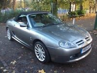 MG TF 1.8 160 2dr £1,450 NEW MOT, LOW MILES, LEATHER ST 2005 (04 reg), Convertible
