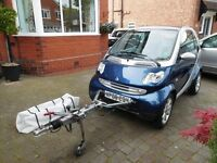 Smart Fortwo 0.7 City Grandstyle 3dr 2006 with Towing Frame – Towtal