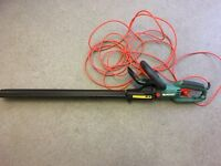 Qualcast electric hedge trimmers.