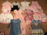 baby girl clothes newborn 0-2 years, total 60 elements.............smoke pets free home