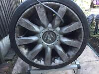 Vw allow wheels 4 .with tyres for sale