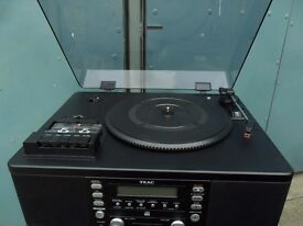 TEAC LP-R500 turntable CD player tape player - Record your vinyl to CD