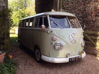 1966 VW splitscreen camper uk RHD